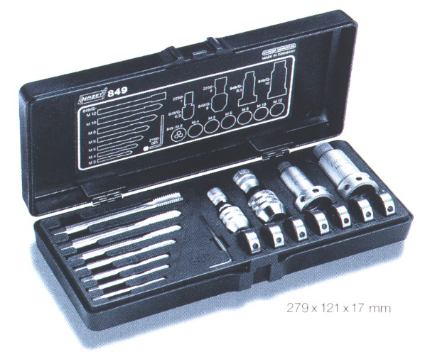 Tap and Die Set Metric