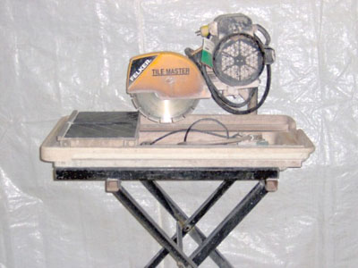 Ceramic Tile Saw 10""